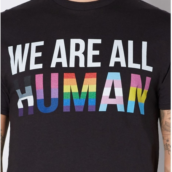Spencer's Tops - We Are All Human T-Shirt